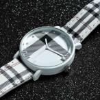 Burberry Style, UK Style, Plaid style armbandsur