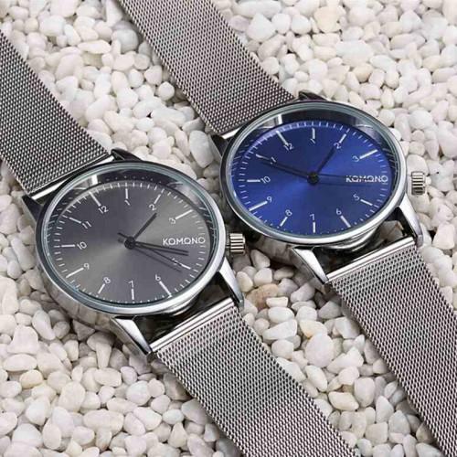 KOMONO armbandsur, mesh  milanese armband, finns i 2 färger (Unisex klockor) från klockor4you.se