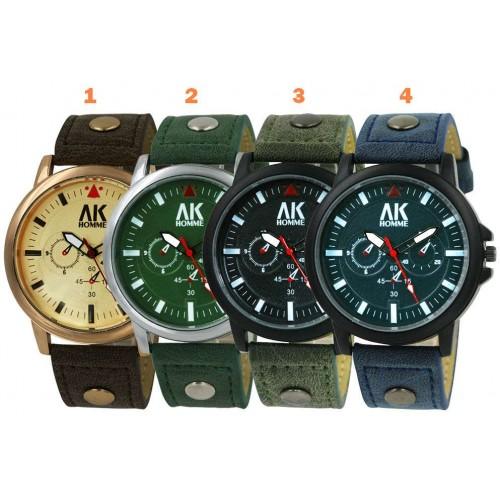 """""""AK Aeronautical Collection 2"""" armbandsur, 4 färger att välja på, se bilder (AK herrklockor) från klockor4you.se"""