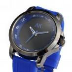 AK Maritime klocka, färger svart och blå, gummi armband
