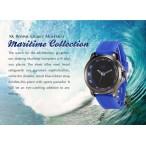AK Maritime klocka, färger svart och blå, gummi armband (AK herrklockor) från klockor4you.se