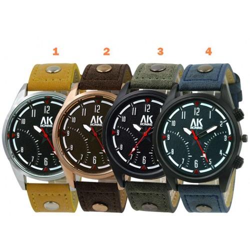 """""""AK Aeronautical Collection 3"""" armbandsur, 4 färger att välja på, se bilder (AK herrklockor) från klockor4you.se"""