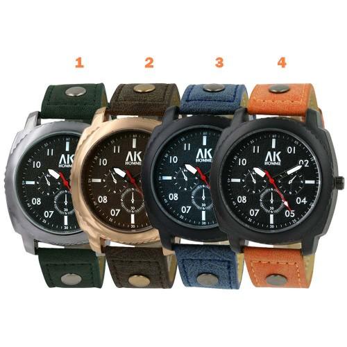 """""""AK Aeronautical Collection 5"""" armbandsur, 4 färger att välja på, se bilder (AK herrklockor) från klockor4you.se"""