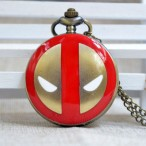 Spider-man Deadpool Marvel, fickur, halsbandsklocka