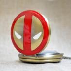 Spider-man Deadpool Marvel, fickur, halsbandsklocka (Barn - ungdomar) från klockor4you.se