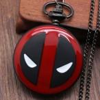 Spider-man Deadpool Marvel, m.3, fickur, halsbandsklocka (Barn - ungdomar) från klockor4you.se