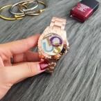 Armbandsur TOUS, armband och klockhus färgat i rosa guld