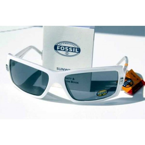 Fossil Authentic solglasögon, Chill Out White, 100 UV Protection, Nypris: € 45 (Övrigt) från klockor4you.se