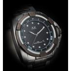 AK armbandsur, fina detaljer, datum, stålarmband (AK herrklockor) från klockor4you.se