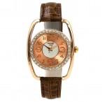 Christian Joy rosé guld färgad klocka med kristaller, annorlunda design, se bilder (Barn - ungdomar) från klockor4you.se