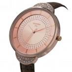 Christian Joy rosé guld färgad klocka med kristaller, storlek XL, se bilder (Christian Joy) från klockor4you.se