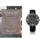 Christian Joy klocka, svartfärgad boett med hjärtan, se 12 bilder (99 kronor) från klockor4you.se