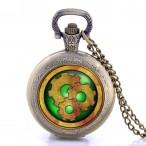 """""""Golden Gear"""" hängur, halsbandsklocka, fickur, fina detaljer"""