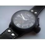 Goer klocka, automatiskt urverk, datum, subsekund, svart urtavla (Herrklockor) från klockor4you.se
