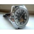 Goer klocka, automatiskt urverk, subsekund, romerska siffror, svart urtavla (Herrklockor) från klockor4you.se
