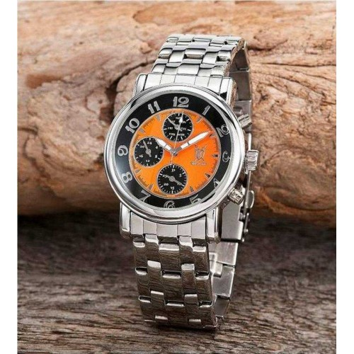 Königswerk Volturnus orange/svart, day/date/24h, modell KV02, i ask (Herrklockor) från klockor4you.se
